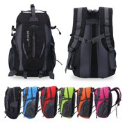 Qiilu 40L Hiking Backpack Waterproof Backpack Shoulder Bag Unisex Travel Backpack For Outdoor Sports Climbing Camping Hiking 6 Colors