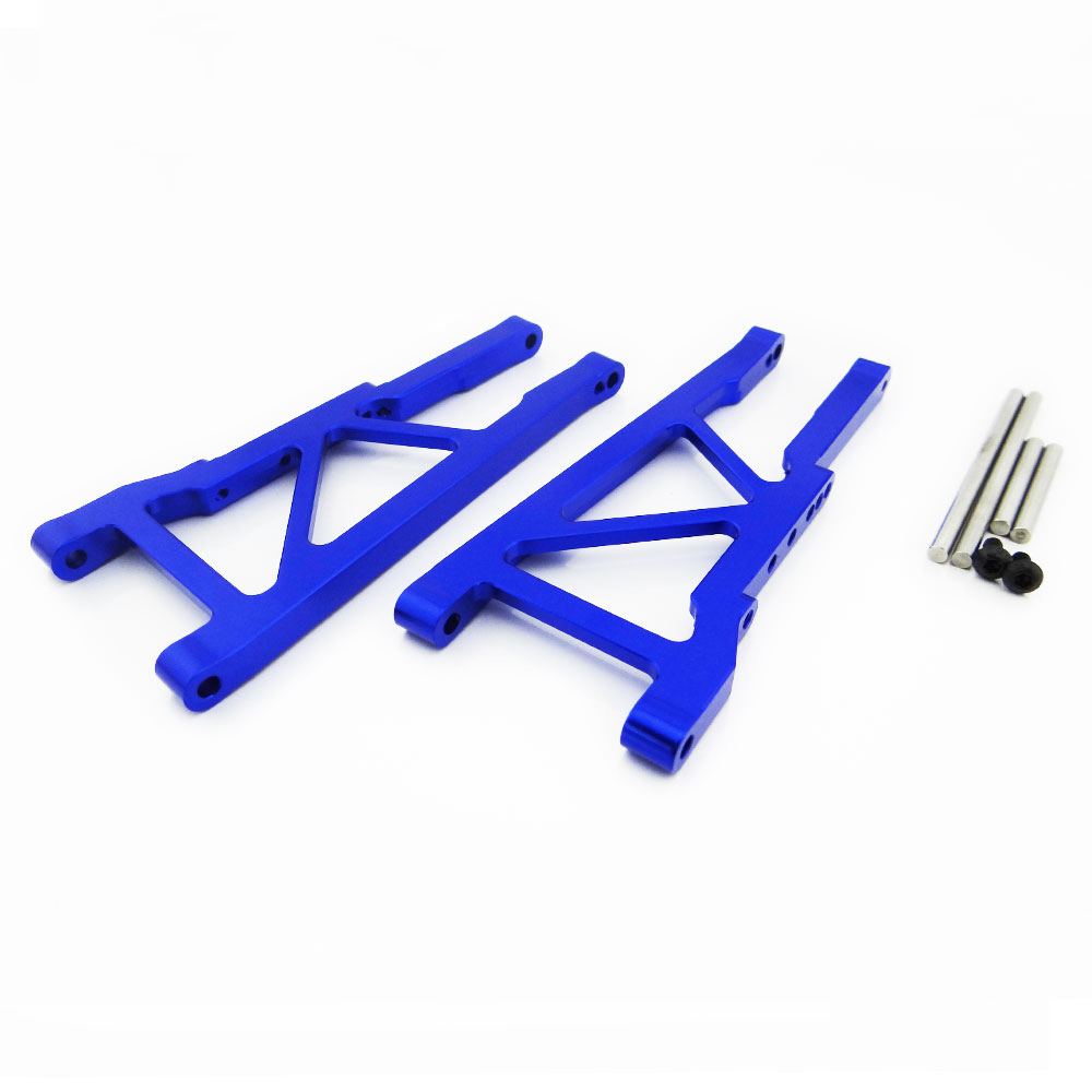 Atomik RC Traxxas Stampede 4x4 1:10 Aluminum Alloy Ultra Shock Cap Hop Up Upgrade Blue Replaces Traxxas Part 3767