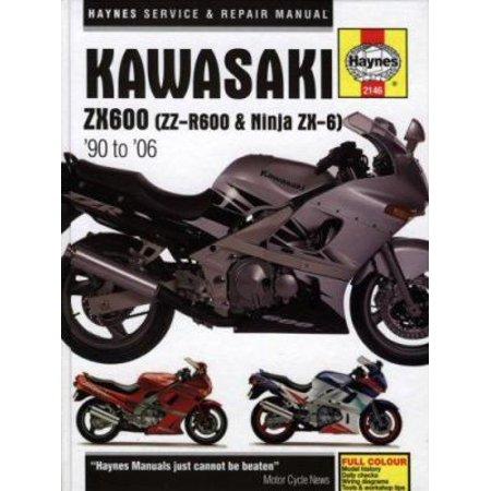 Haynes Kawasaki Zx600 (Zz-r600 & Ninja Zx-6) '90 to '06