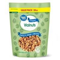 Great Value Chopped Walnuts, 24 oz