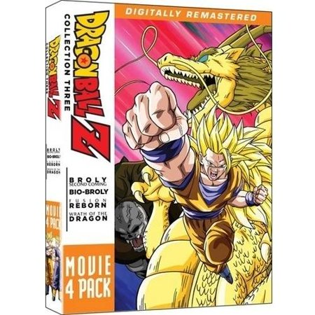 Dragonball Z: Movie Pack #3 - Movies 10-13