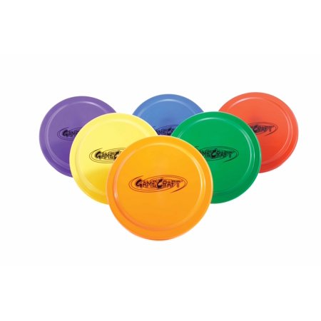 GameCraft® 9 in. Plastic Flying Discs, Set of 6](Flying Discs)