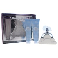 Cloud by Ariana Grande for Women - 3 Pc Gift Set 3.4oz EDP Spray, 3.4oz Body Souffle, 3.4oz Bath and Shower Gel