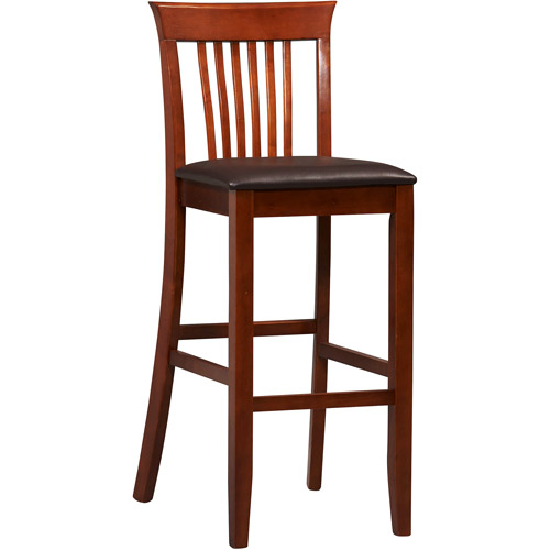 Linon Triena Collection Craftsman Bar Stool 30 inch Seat Height