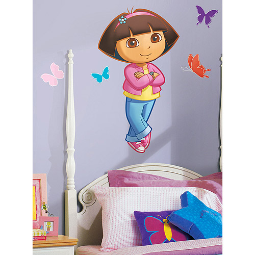 RoomMates - Dora Peel & Stick Giant Wall Decal