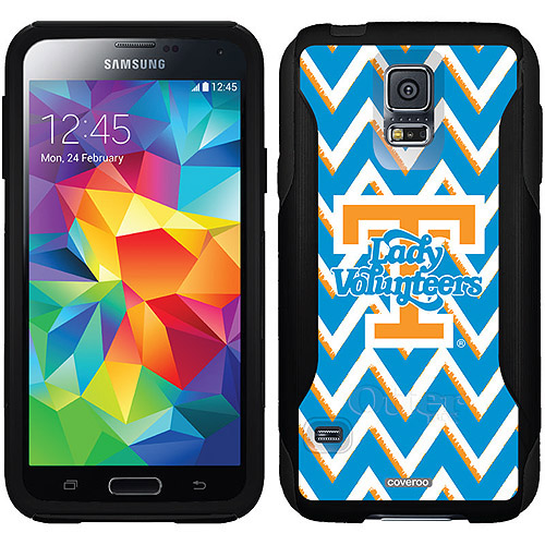 University of Tennessee Sketchy Chevron Design on OtterBox Commuter Series Case for Samsung Galaxy S5