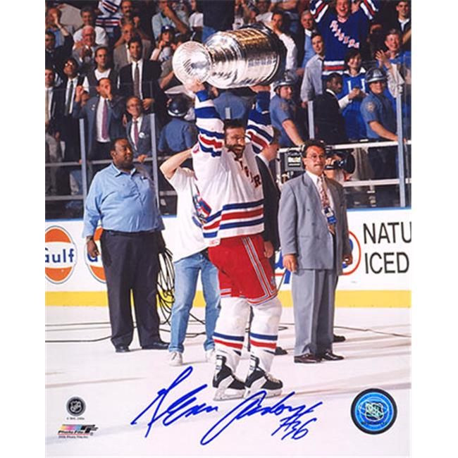 AJ Sports World ANDG103020 GLENN ANDERSON New York Rangers SIGNED 8x10 Photo 1994 Stanley Cup Photo
