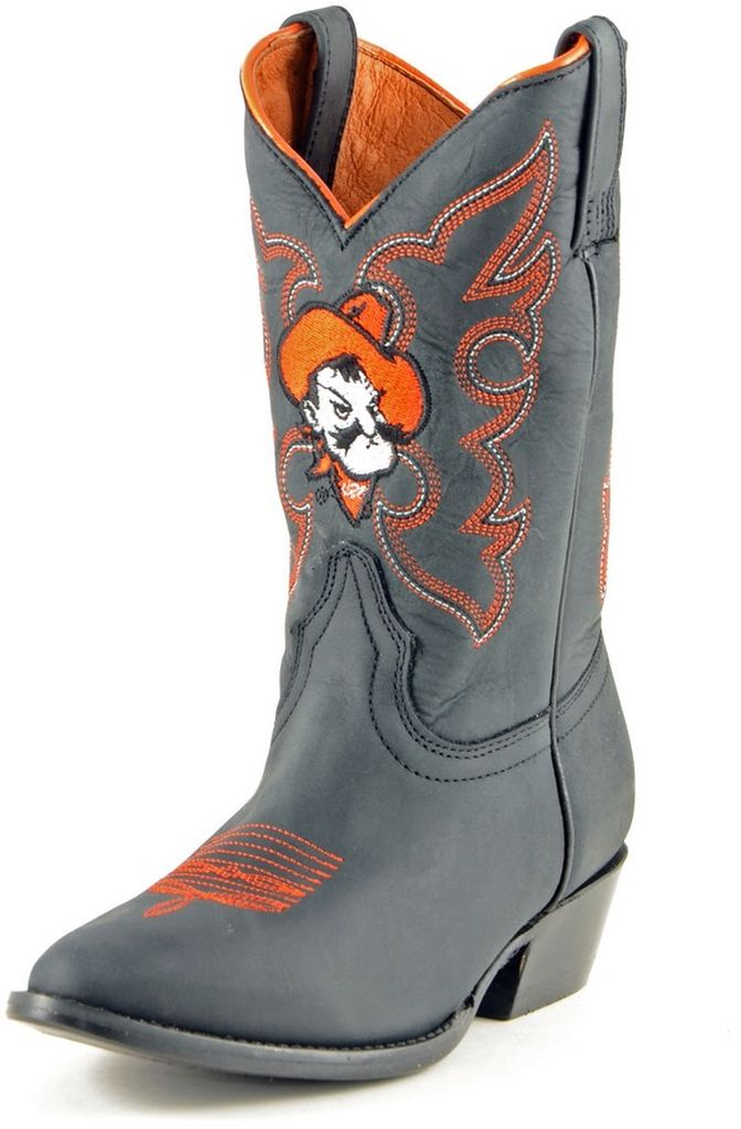 Gameday Boots Boys College Team Oklahoma State Black OSU-B021-2 by Gameday Boots