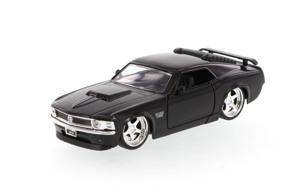 1970 Mustang Boss 429, Black Jada Toys 96941 1 32 scale Diecast Model Toy Car (Brand but... by Jada