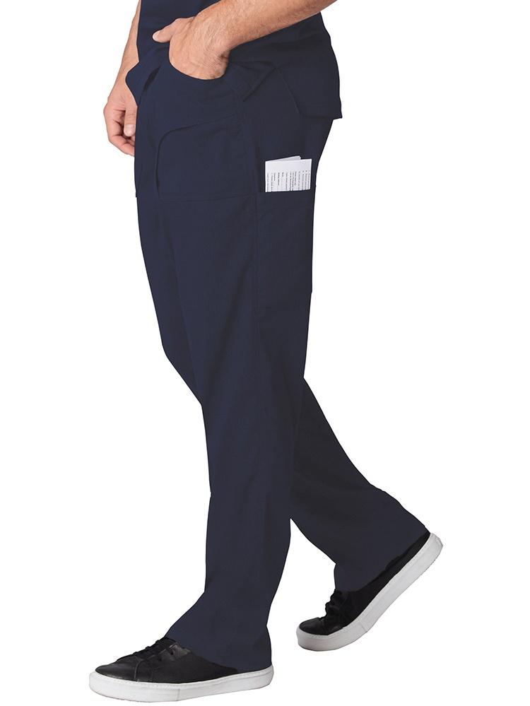 koi Lite Men's Endurance Straight Leg Drawstring Scrub Pant