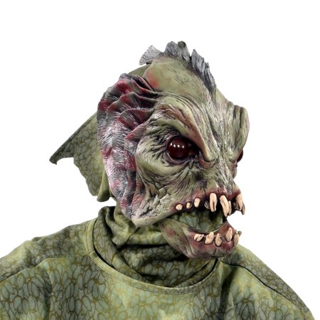 Zagone Studios Deep Sea Creature Latex Halloween Adult Costume Mask (one size) - Zagone Studios Halloween Masks