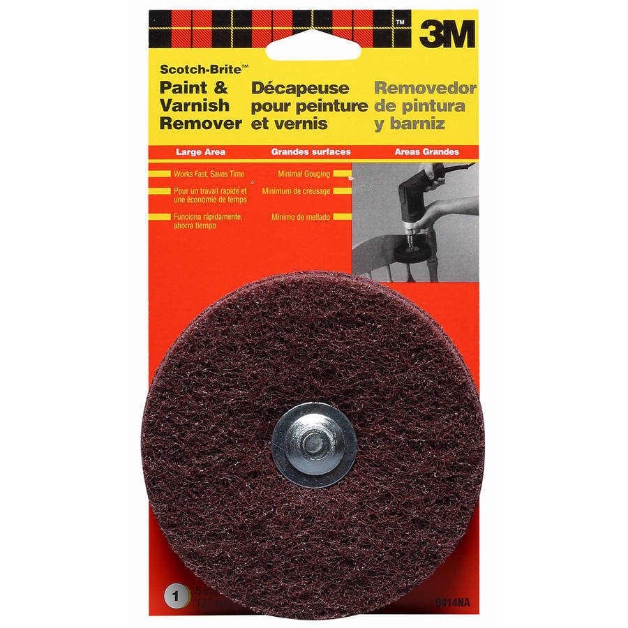 3M 9414NA Scotch-Brite Drill Mounted Paint and Varnish Stripper