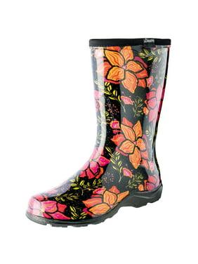 84603d7716af Product Image Women s Sloggers Rubber Boots - Garden Spring Surprise Print