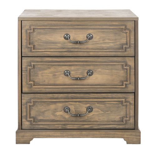 Darby Home Co Kanagy 3 Drawer Nightstand