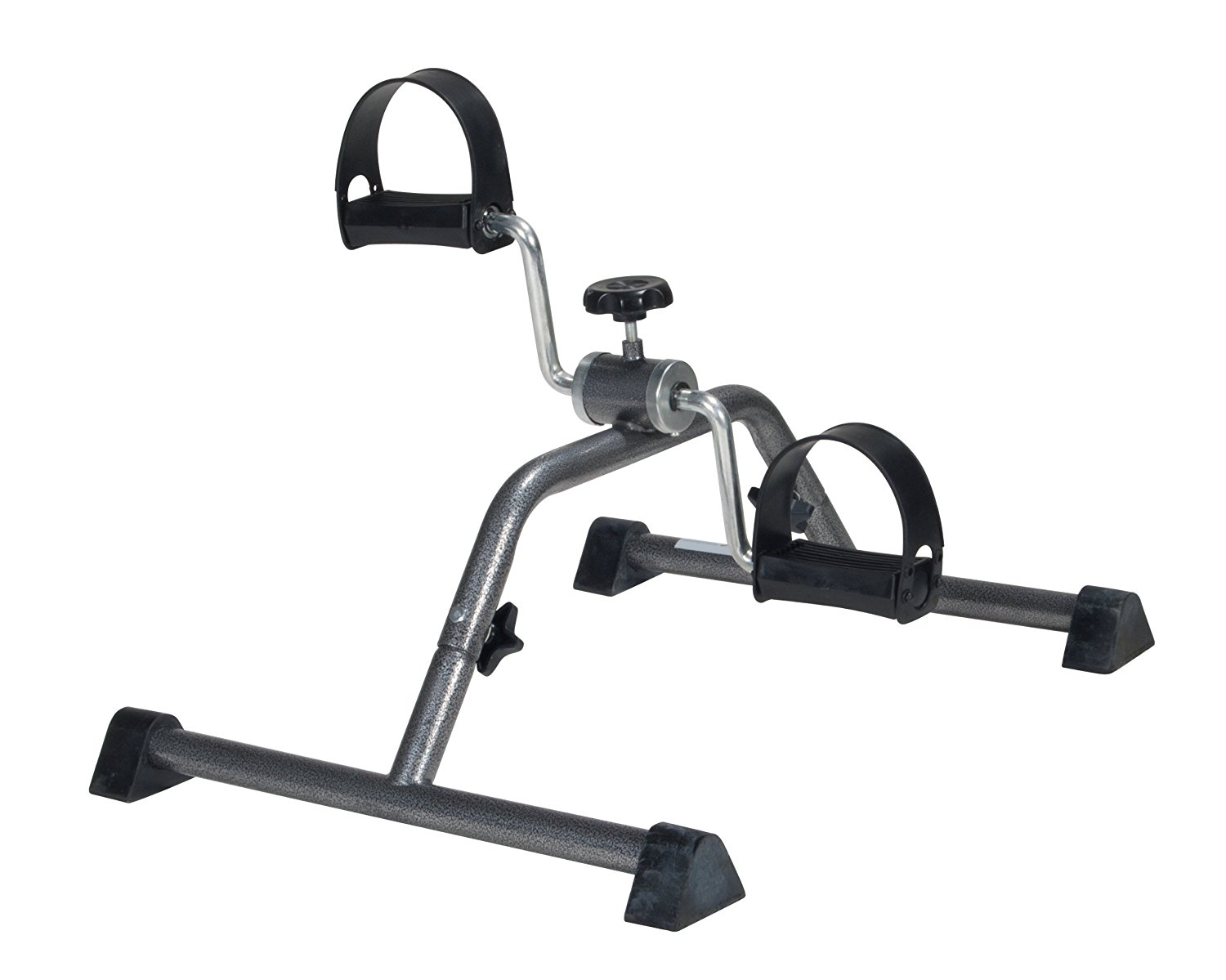 Exercise Peddler with Attractive Silver Vein Finish (Requires Simple Assembly), Ball Trainer Across Snaps Lose Board... by