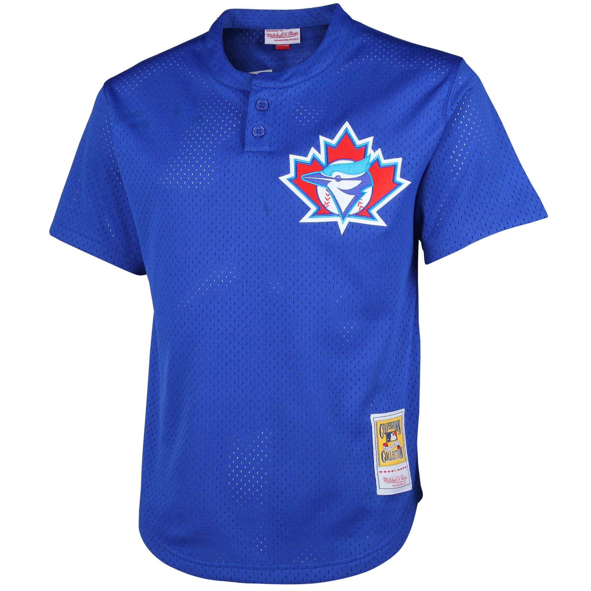 innovative design 17886 31b81 1997 Joe Carter Toronto Blue Jays Mitchell & Ness Cooperstown Mesh Batting  Practice Jersey - Royal