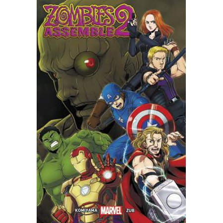 Zombies Assemble Vol. 2 Manga - Marvel Zombies Halloween Review