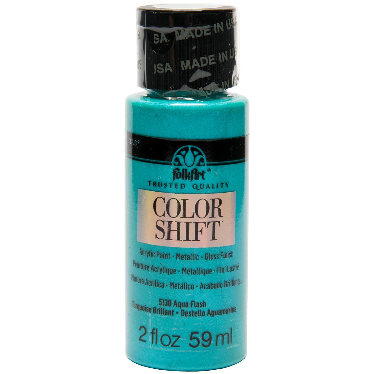 FolkArt Color Shift 2oz-Aqua Flash