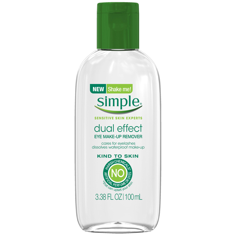 Simple Kind To Skin Eye Makeup Remover Dual Effect 338 Oz Walmart
