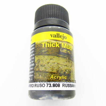 Russian Thick Mud 40ml Bottle Acrylic Weathering Effects -
