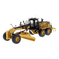 """CAT Caterpillar 18M3 Motor Grader with Operator """"High Line Series"""" 1/50 Diecast Model by Diecast Masters"""
