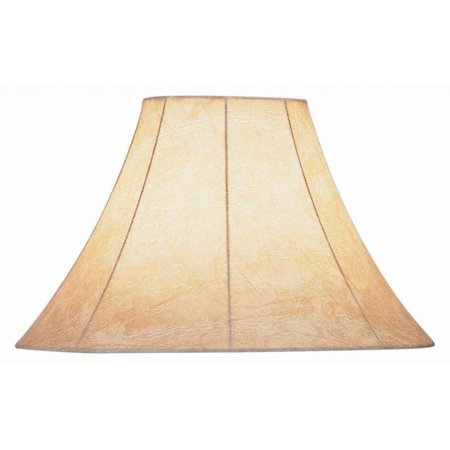 Lite Source 16 in. Wide Base Table and Floor Bell Shade with Harp -
