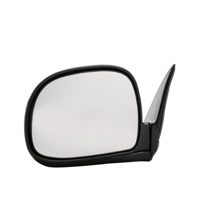 For Chevrolet S10 Blazer Black Power Non Heated Replacement Driver Side Mirror (MI-044)