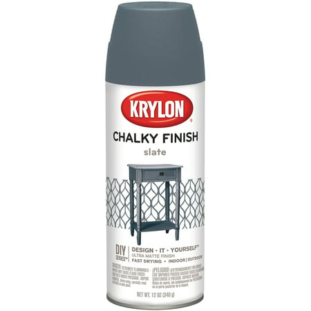 Chalky Finish Aerosol Spray Paint (Hand Painted Outdoor Finishes)