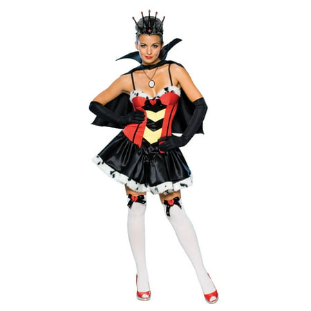 Adult Queen of Broken Hearts Costume Rubies 888646