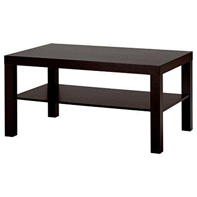 Premium Coffee Table Living Room Black Modern Low Wood Contemporary Ikea Lack ry Wooden Bench Furniture Style ()