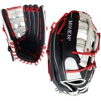 "2019 Miken PS150-PH 15"" Player Series Slowpitch Softball Glove Black/Red/White"