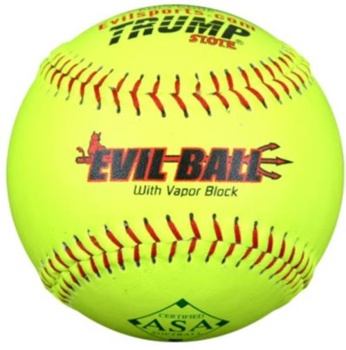 "Evil Ball Evil Sports Evil-RP-ASA Ball 12"" 52-300 Distance with HOT .52/300 Dozen ASA-RP52"