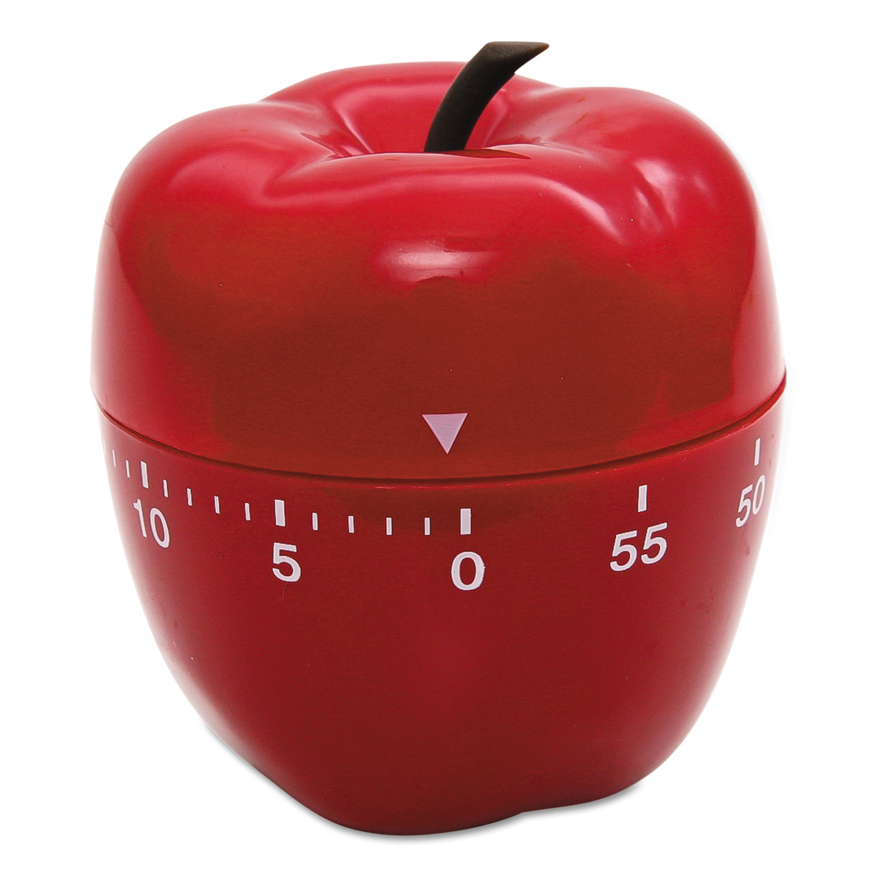 "Baumgartens Shaped Timer, 4"" dia., Red Apple"
