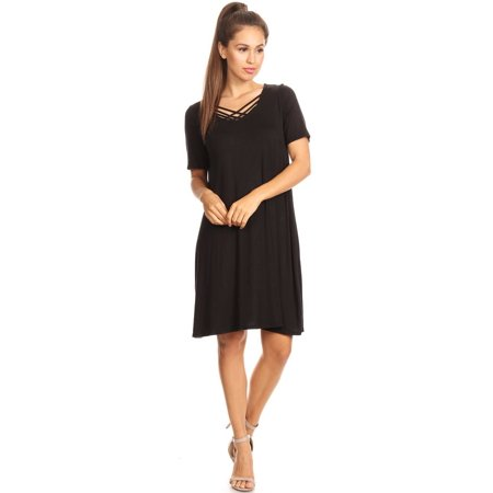 Trendy Salwar - Women's Trendy Style Solid Dress