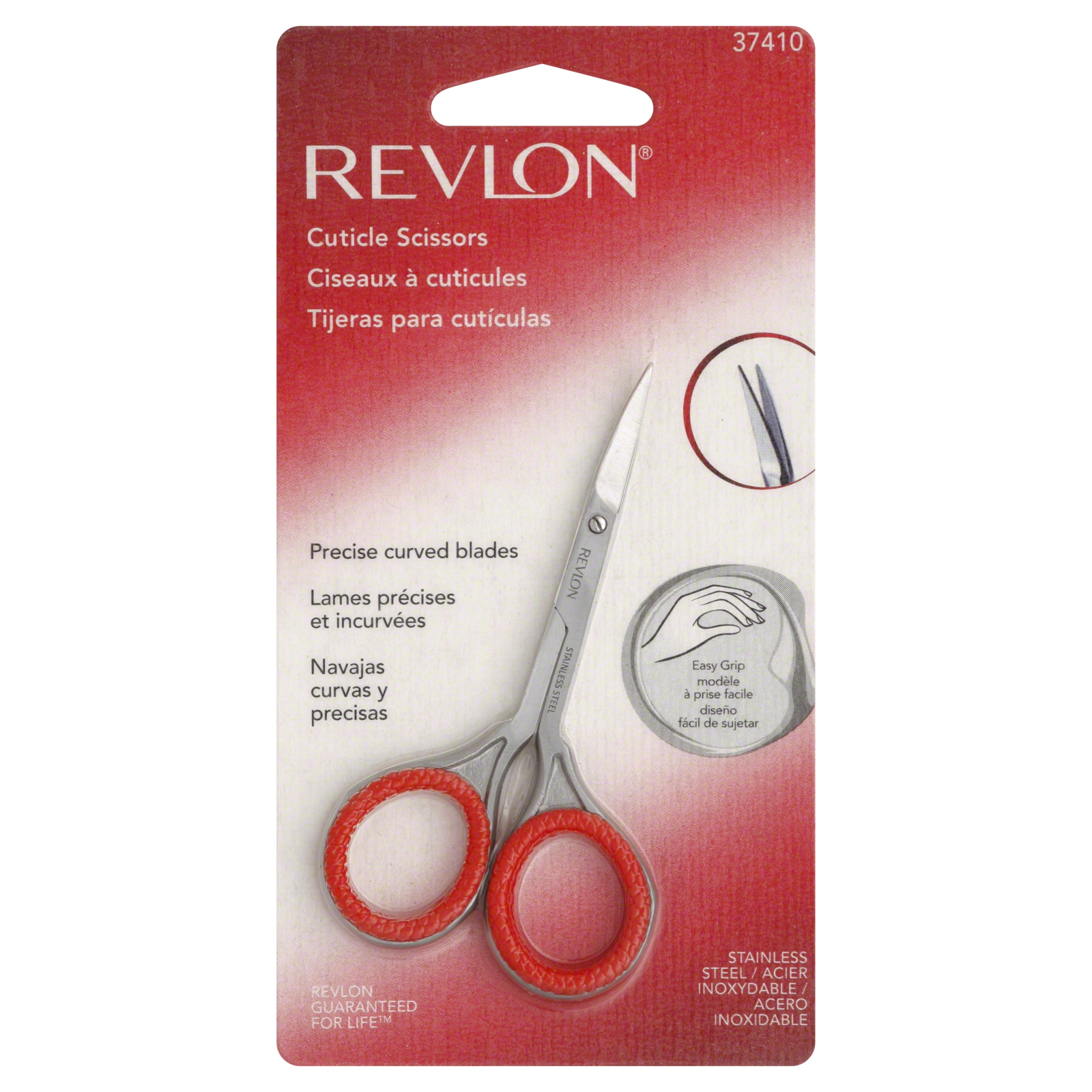 Revlon Cuticle Scissors, Curved Blade