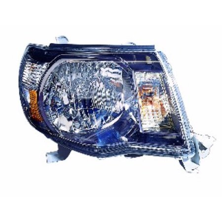 Go-Parts » 2005 - 2011 Toyota Tacoma Front Headlight Headlamp Assembly Front Housing / Lens / Cover - Right (Passenger) Side - (Pre Runner + X-Runner) 81110-04173 TO2503181 Replacement For Toyota)
