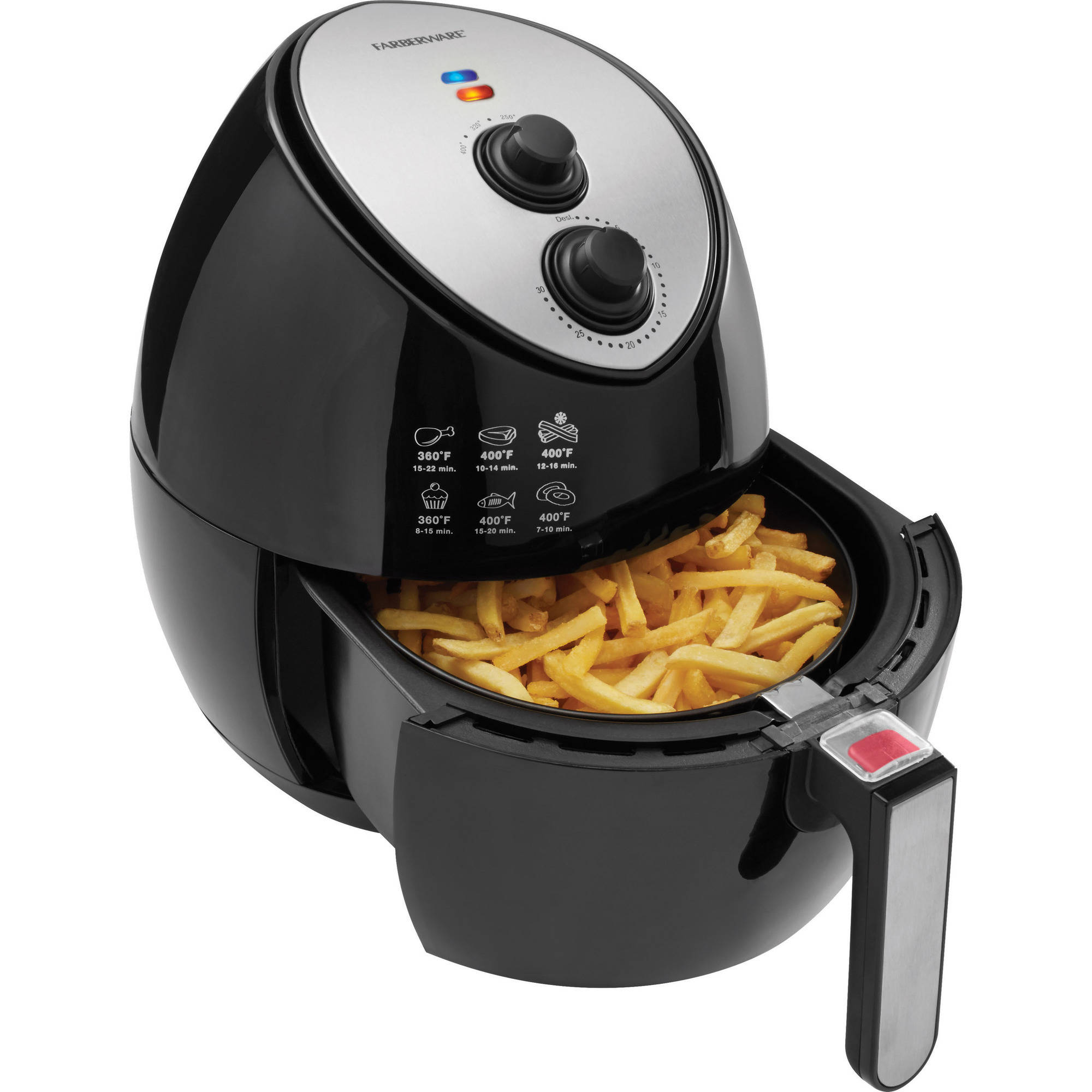 Farberware 3.2 Quart Air Fryer, Black