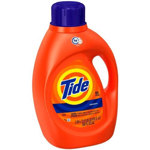Tide Original High Efficiency Liquid Laundry Detergent, 100 oz (Pack of 6)