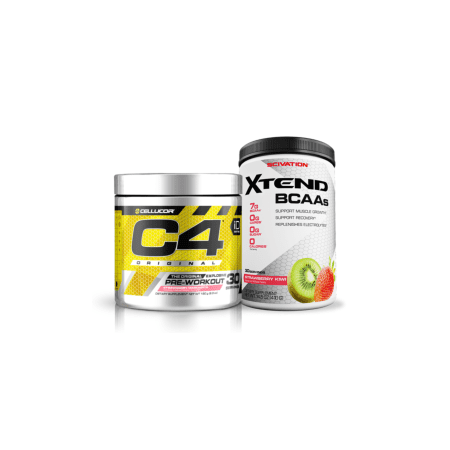 Cellucor C4 Original & Scivation Xtend BCAA Value Bundle, 30 Servings (Choice of