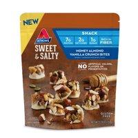 Atkins Honey Almond Vanilla Crunch Bites, Keto Friendly, 5 Servings