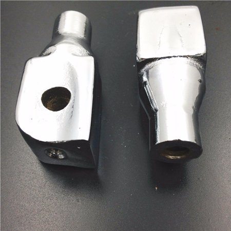 HTT-MOTOR Chrome Foot Pegs installation Part Connection Fittings Fit Kawasaki Vulcan 1600 1500 800 200 Suzuki Marauder 1600/Boulevard (800 200 4346)