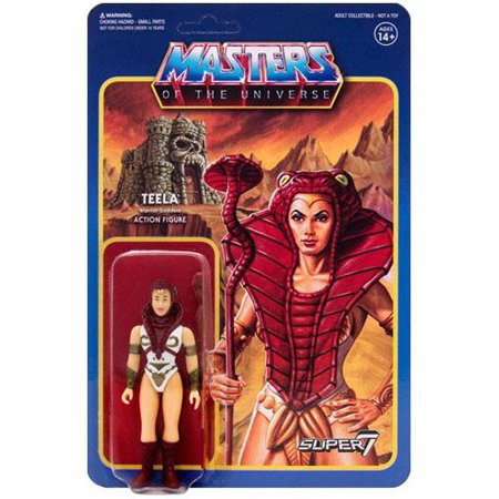 ReAction Masters of the Universe Series 3 Teela Action - Teela Masters Of The Universe