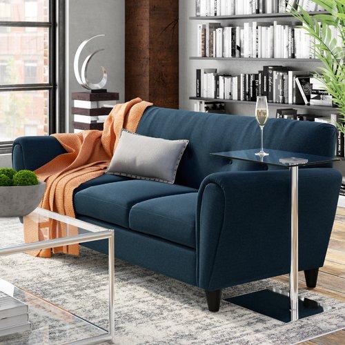 Ebern Designs Peirce Buttoned Traditional Sofa
