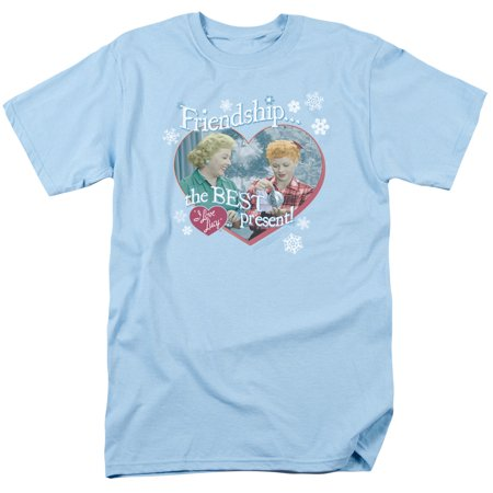 LUCY/THE BEST PRESENT - S/S ADULT 18/1 - LIGHT BLUE -