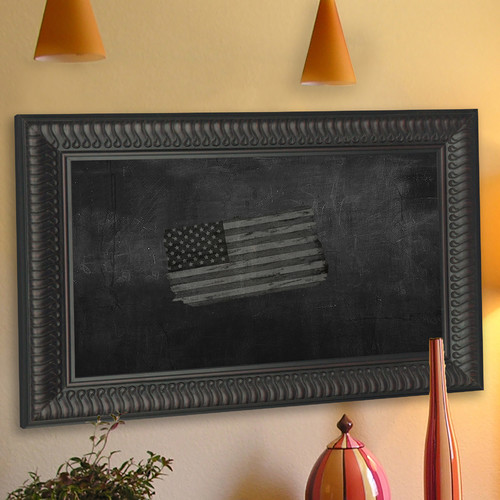Rayne Mirrors Royal Curve Wall Mounted Chalkboard