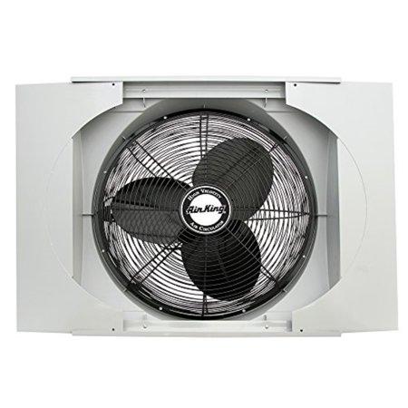 """air king 9166f 20"""" whole house window fan"""