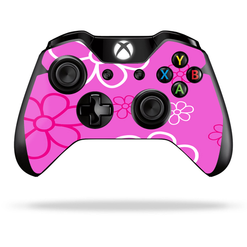 Protective Vinyl Skin Decal Cover for Microsoft Xbox One Controller wrap sticker skins Flower Power