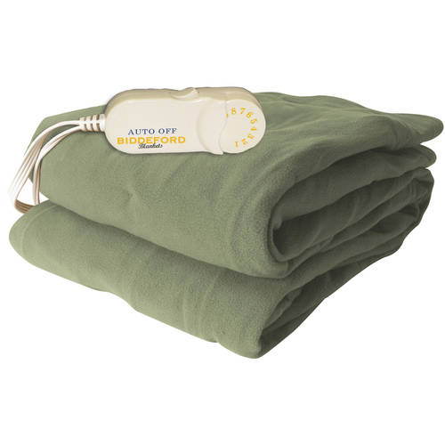 Biddeford Comfort Knit Electric Heated Throw With Analog Controller, Brick