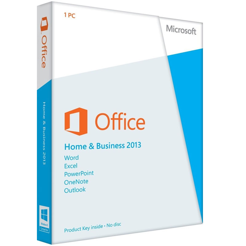 Retail - Microsoft T5D-01575 Office Home & Business 2013 Software