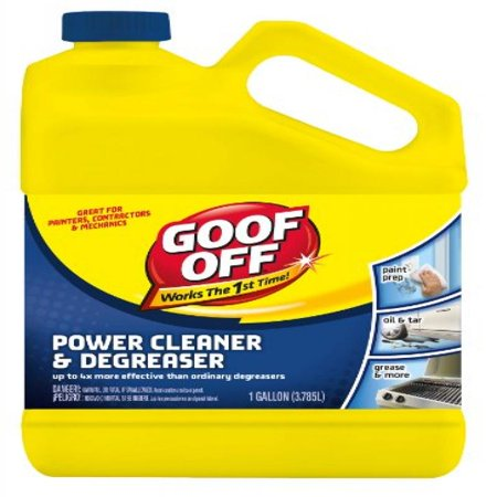Goof Off Fg684 Power Cleaner And Degreaser 1 Gallon